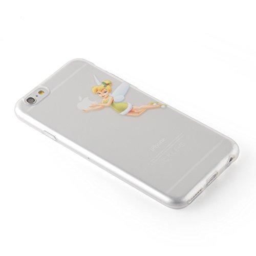 vasta selezione di 87f57 300cd Cover iPhone 6, JAMMYLIZARD [Sketch] Custodia in Silicone Trasparente Semi  Morbido Ultra Slim con Disegno per Apple iPhone 6 e Apple iPhone 6s, ...